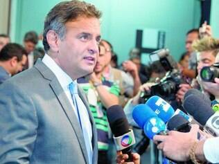 Formato. Na avaliação dos tucanos, Aécio Neves tem mais desenvoltura do que Dilma Rousseff