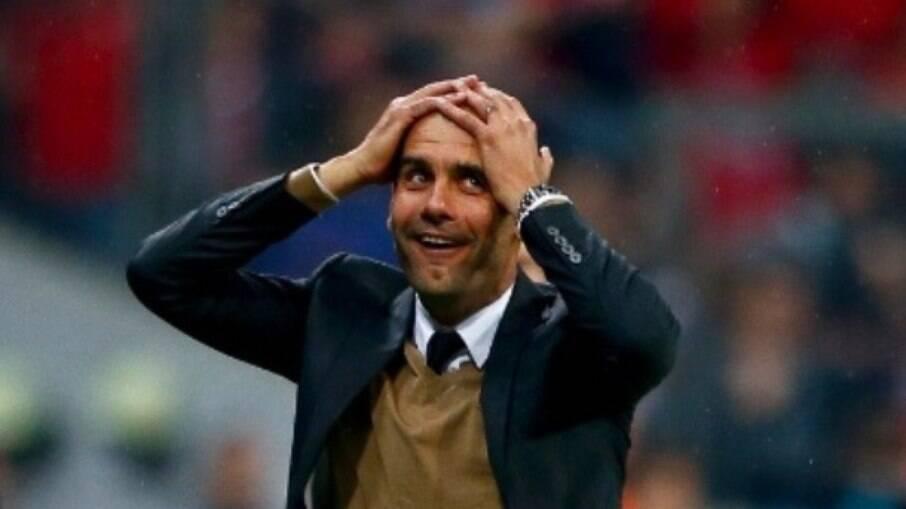 Pep Guardiola está no Manchester City desde  2016
