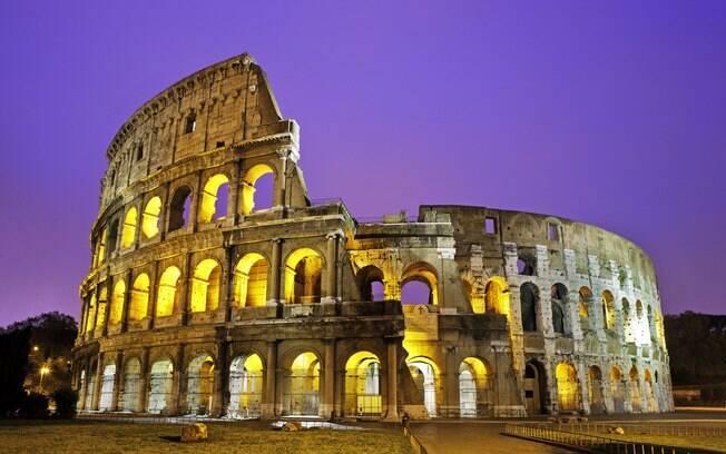 Coliseu é o maior legado arquitetônico da Roma Antiga
