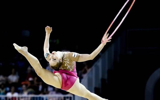 A brasileira Angelica Kvieczynski foi a 3ª colocada na soma das duas sessões individuais. Foto: AP