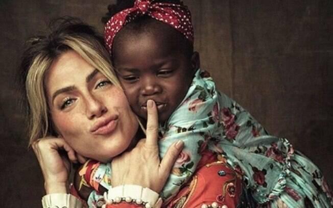 Giovanna Ewbank e sua filha Titi