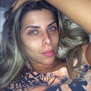 Ana Paula Minerato sem maquiagem