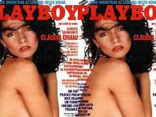 Ícone de beleza na época, Claudia Ohana posou para a capa da revista em 1985 e a depilação da atriz 'ao natural' causou polêmica