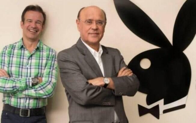 André Sanseverino e Marcos Abreu: sócios da Playboy Brasil em sua era na PBB Editora