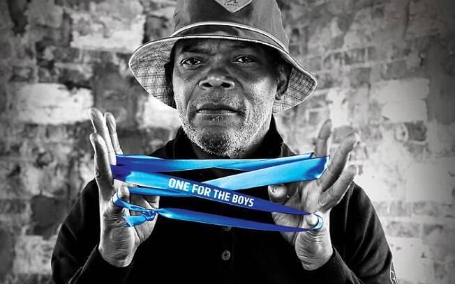 Samuel L. Jackson promove campanha que pede para o homem