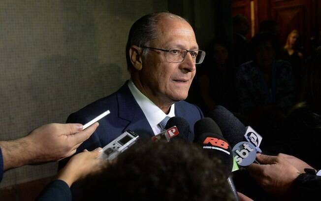 O governador de São Paulo, Geraldo Alckmin: ele afirma que greve causa milhões em prejuízo