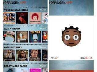 Orange Is The New App tem cartões divertidos para os fãs da série do Netflix compartilharem nas redes sociais. Disponível para Android e iOS gratuitamente