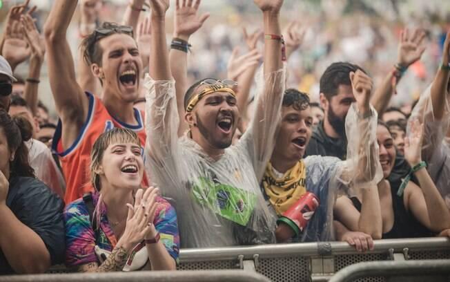 Público curte o Lollapalooza