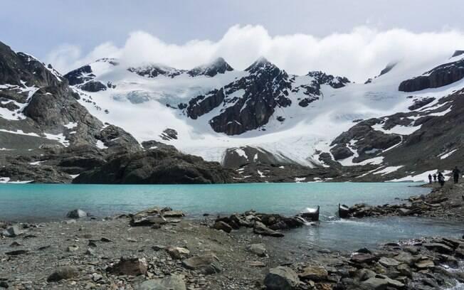 O que fazer em Ushuaia%3 quem quiser encarar o Glaciar Vinciguerra deve se preparar para 13 km de muito esforço
