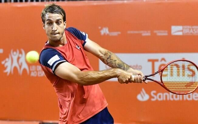 Campineiro segue para as quartas de final do Campeonato Internacional de Tênis