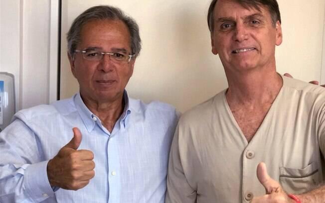 Paulo Guedes é investigado pelo MPF; ele é o guru  econômico do presidenciável Jair Bolsonaro (PSL)