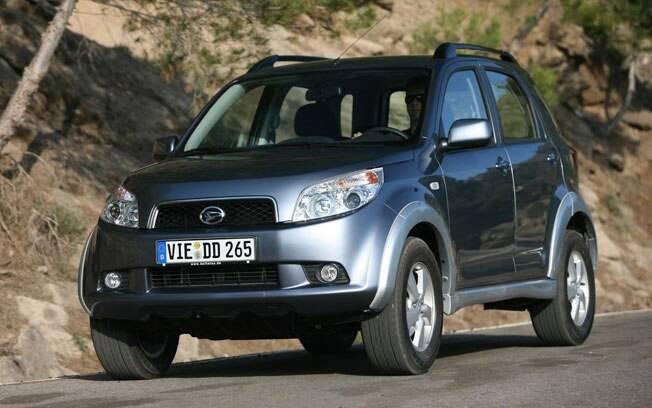 O Daihatsu Terios é uma opção de SUV compacto de baixo custo - embora já esteja antiquado, pois foi lançado em 2006