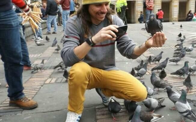 Lucas é estudante de Geografia da Universidade de São Paulo (USP) e planejava permanecer por seis meses na Colômbia