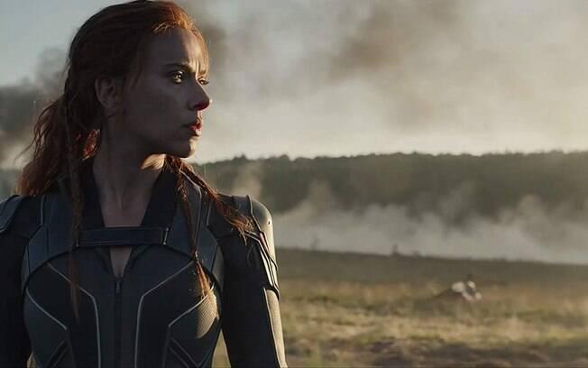 Scarlett Johansson em cena do aguardado Viúva Negra