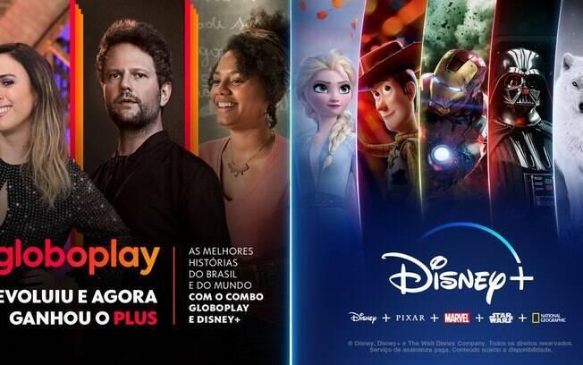 Globoplay e Disney+ terão plano único