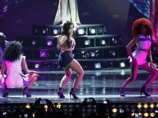 Anitta grava DVD no Rio de Janeiro