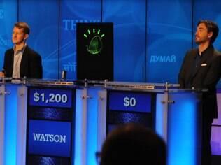 Em 2011, Watson ganhou o Jeopardy!, um famoso programa norte-americano que testa os conhecimentos gerais dos participantes