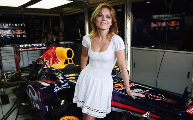 Ex-spice girl e cantora Geri Halliwell está  entre as musas do GP da Inglaterra de F1