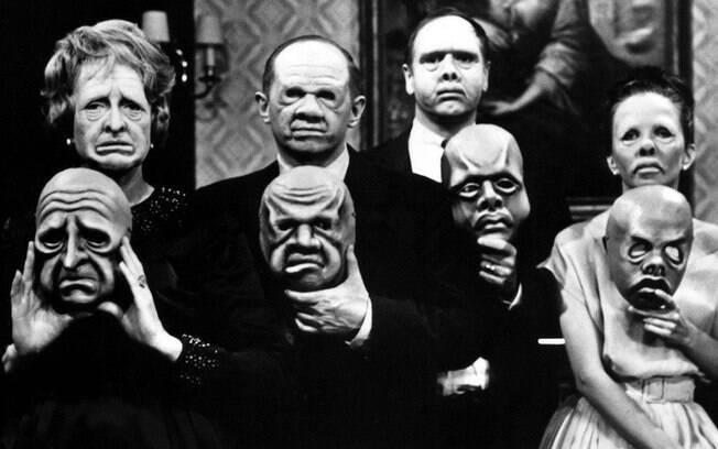 Séries antológicas de terror da televisão, assim como