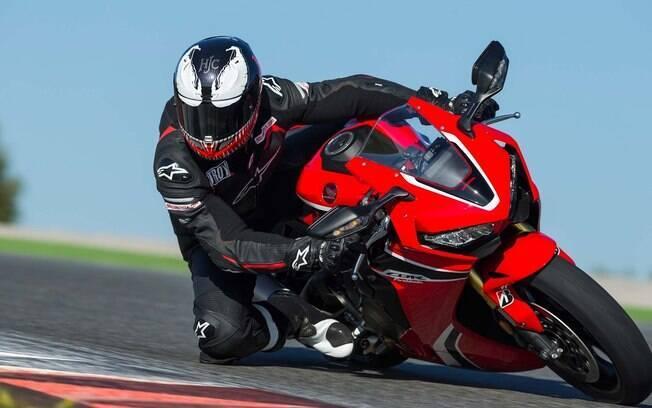 Honda CBR 1000 RR Fireblade. Foto: Divulgação