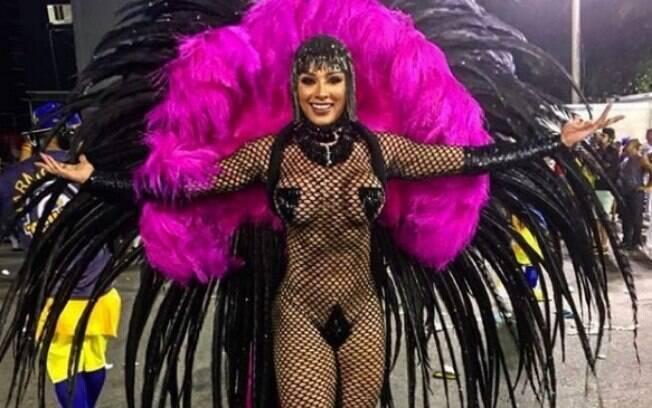 Juju Salimeni brilhou no carnaval