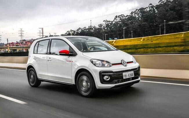 Volkswagen Up! é um dos modelos mais econômicos à venda atualmente no Brasil, com  motor 1.0, de três cilindros