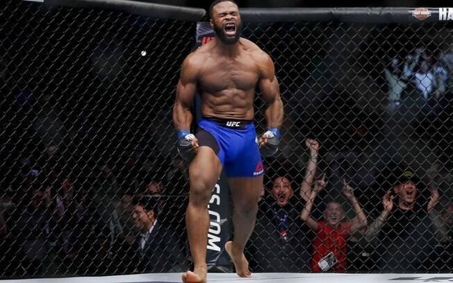 Tyron Woodley, lutador do UFC  e líder do ranking da categoria Peso-meio-médio