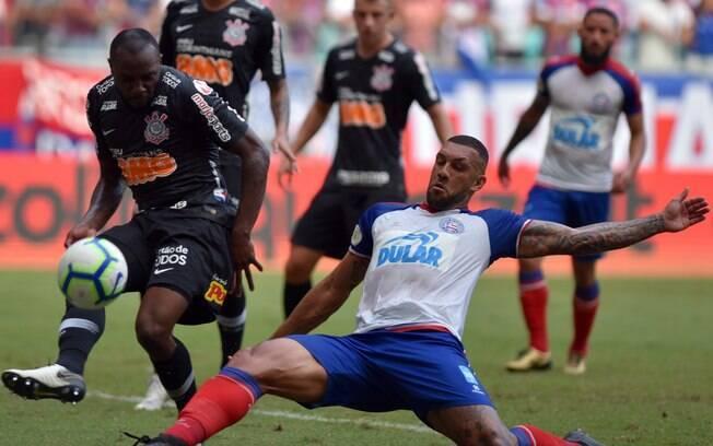 Corinthians jogou contra o Bahia e perdeu; jogadores comentam jogo após derrota na Arena Fonte Nova, em Salvador
