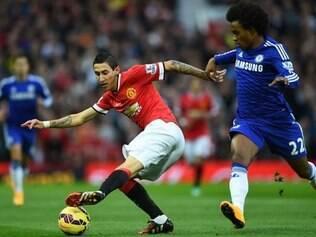 Manchester United conseguiu segurar líder Chelsea nos últimos momentos do jogo