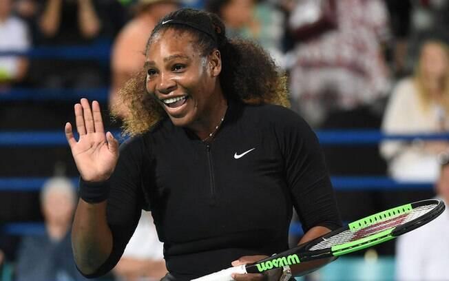 Grande campeã Serena Williams encantou a web
