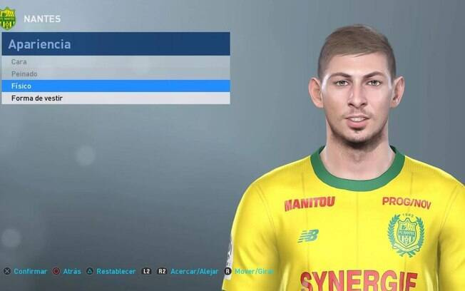 Emiliano Sala no Fifa 19