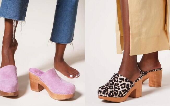 Clogs: os sapatos que estão voltando com tudo