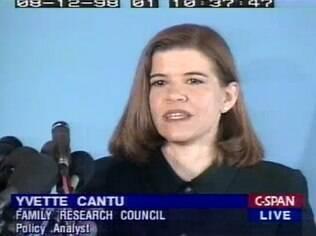 Yvette Cantu Schneider era militante ex-gay e hoje defende a proibição dos tratamentos