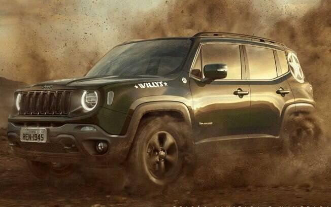 Jeep Renegade Willys honra a tradição da marca com tração 4x4 e motor turbodiesel no conjunto mecânico