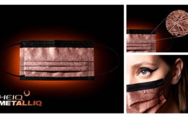 HeiQ lança máscara high-tech com tecnologia revolucionária de cobre que desativa o vírus COVID-19 em cinco minutos.