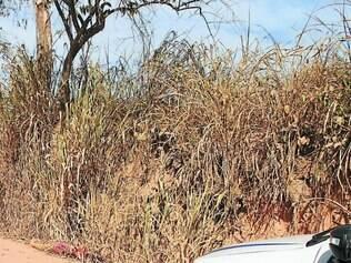 Mistério.  Um dos corpos foi encontrado próximo ao Ceresp de Betim