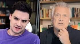 Felipe Neto detona Bial após fala sobre Lula