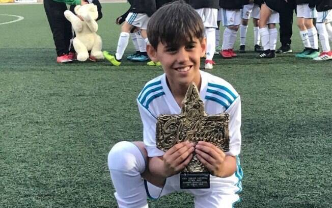 Miguel Coppede, jovem brasileiro que atua nas categorias de base do Real Madrid