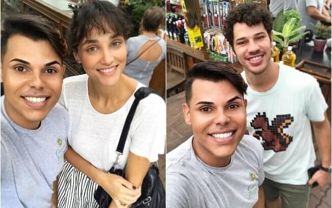 José Loreto e Débora Nascimento são vistos juntos mais uma vez, e internet vai ao delírio