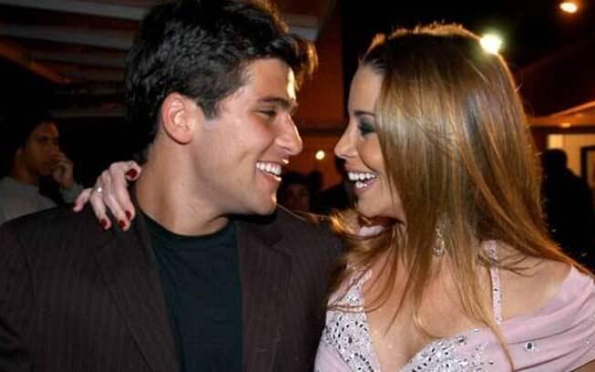 Danielle Winits e Bruno Gagliasso já foram um casal