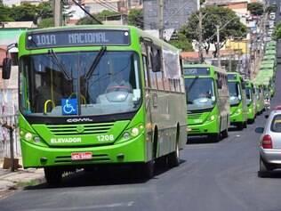 Segundo a Transcon, os veículos são capacitados para transportar pessoas com deficiência física e substituirão os carros mais antigos