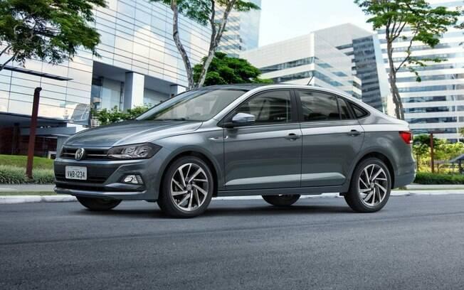 Volkswagen Virtus: É um dos destaques do segmento nas vendas, na 23ª colocação na Fenabrave do ranking geral