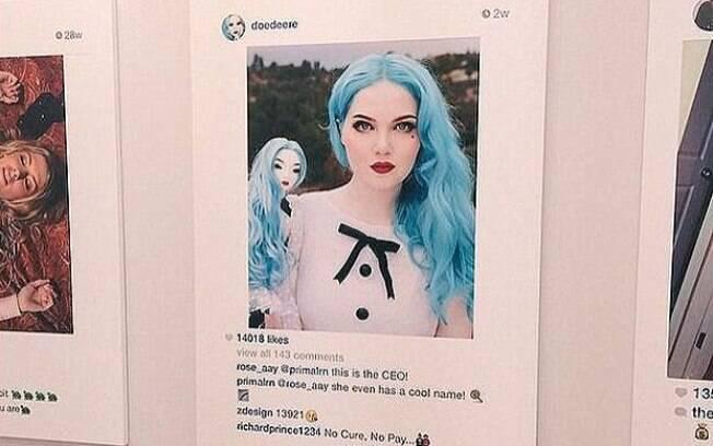 Doedeere declarou que não vai processar Richard Prince por vender sua foto publicada no Instagram