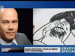 O jornalista francês Laurent Léger