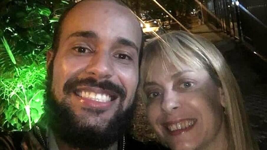Pedro Paulo e Chrstiane Louise: casal se conheceu em clínica psiquiátrica