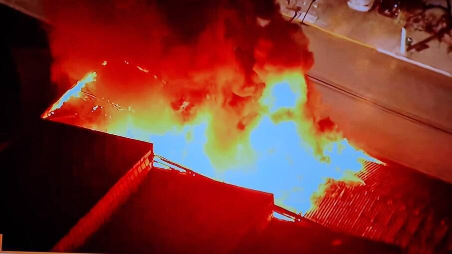 Cinemateca Brasileira pega fogo na noite desta quinta-feira (29)