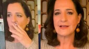 Jornalista da Globo que apareceu fumando ao vivo se pronuncia