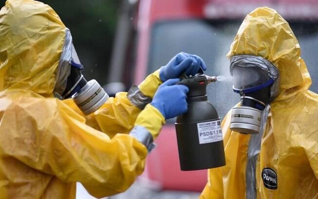 Os pacotes para recuperar a economia em meio ao coronavírus até agora somam € 1,8 trilhão (R$ 9,85 trilhões)