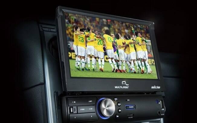 Quando desbloqueado, o kit-DVD é um dos acessórios perigosos por causar distrações no motorista