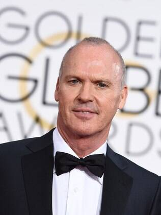 Michael Keaton no Globo de Ouro 2015